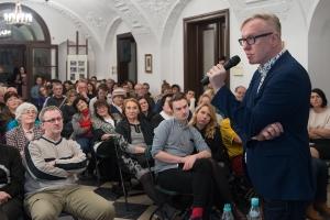 Czechofil, reporter, wydawca naszym gościem w Willi Decjusza - foto. Pawel Mazur